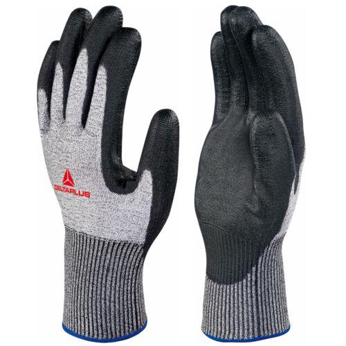 2 paires Delta Plus Venitex VENICUT 44 Econocut noir niveau 4 découpe gants résistant aux