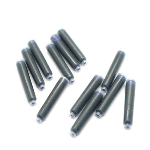 Premium Ink 5 Colors Blue Black Red Green Osmiroid Fountain Pen Cartridges
