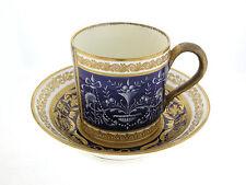 Minton Porcelain Hand Painted Cup & Saucer