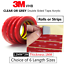 miniature 12 - 3M-VHB-DOUBLE-SIDED-TAPE-ROLL-VERY-STRONG-SELF-ADHESIVE-STICKY-TAPE-CLEAR-amp-GREY