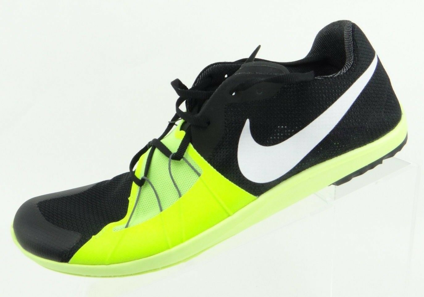 Nike Zoom Forever XC 5 Men's Size 10.5 Track Spikes Shoes Black Volt 904723 017