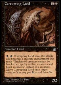 4x-Corrupting-Licid-MTG-Stronghold-NM-Magic-Regular