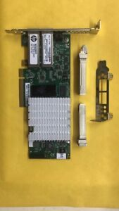 HP-NC523SFP-Dual-Port-10G-593742-001-PCIe-Adapter-2-10GB-850nm-Transce