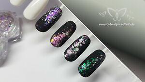 Chrome Spektral Flakes, mehrfarbig Purple  (BS09)