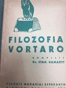 Filozofia-vortaro-Esperanto