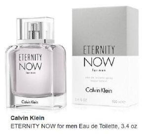 ETERNITY-NOW-by-CALVIN-KLEIN-3-4-oz-Eau-De-toilette-EDT-Spray-Men-NEW-SEALED
