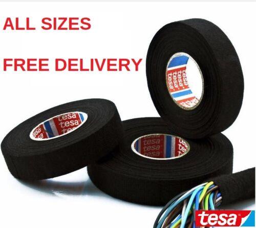 TESA TAPE 51608 ADHESIVE CLOTH FABRIC WIRING LOOM HARNESS  25mm 19mm 15mm 9mm