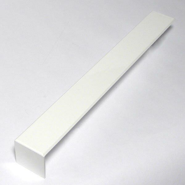 PLASTC UPVC PVC 300mm SQUARE JOINT FASCIA BOARD COVER CAPPIT JOINTERS