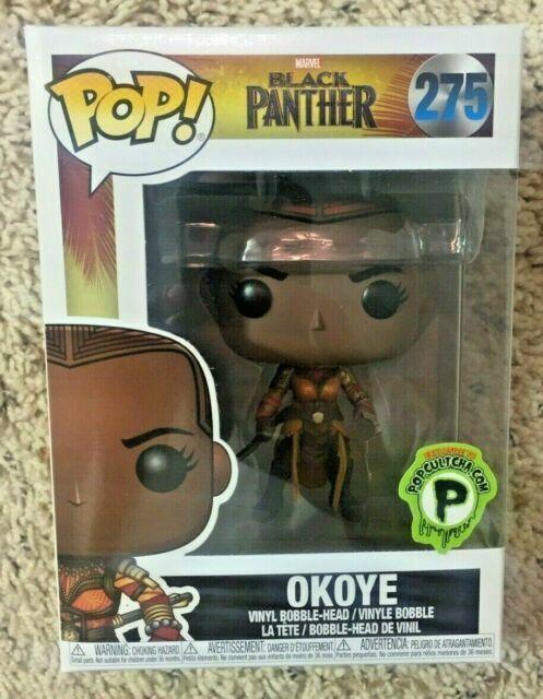 - Funko exclusive Okoye 275 Black Panther Pop!