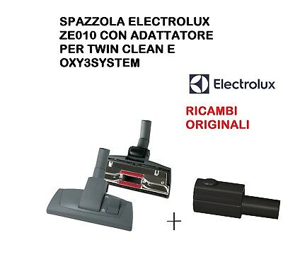 SPAZZOLA ASPIRAPOLVERE ELECTROLUX TWIN CLEAN E OXY3SYSTEM CON ADATTATORE