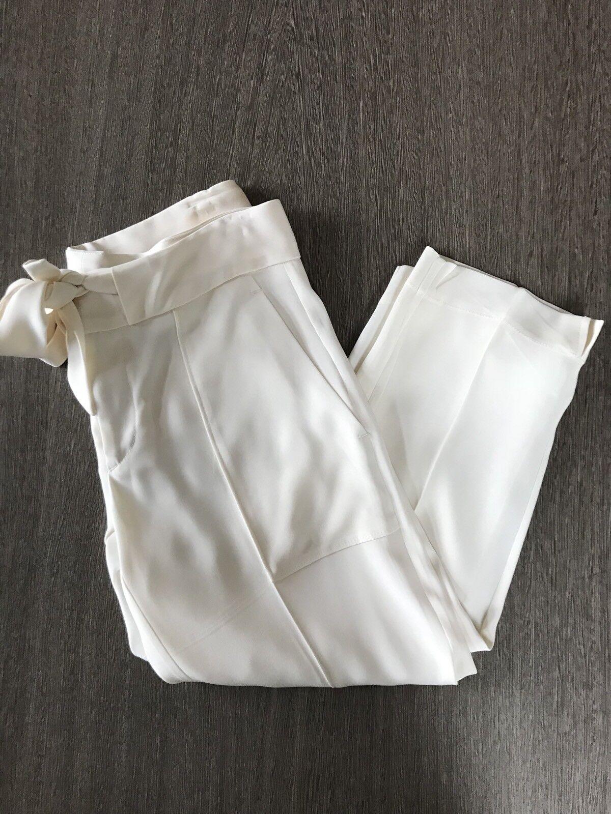 Rag & Bone Creme Ivory Capri Dress Pant Size 2
