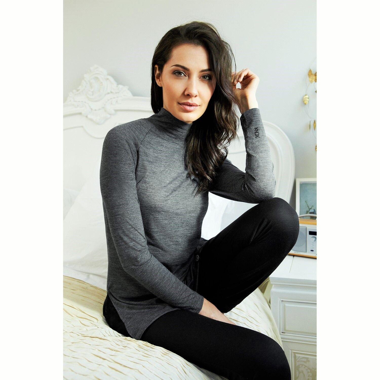 Knox Clara Ladies Long Sleeve Multi Sport Motorcycle BaseLayer - Grey