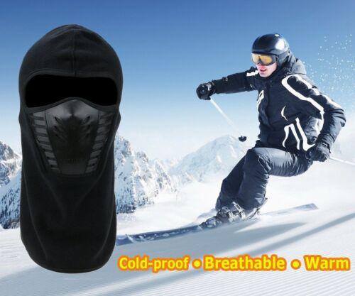 Fleece Windproof Ski Face Mask Balaclavas Warm Hat Cap for Motorcycle Snowboard