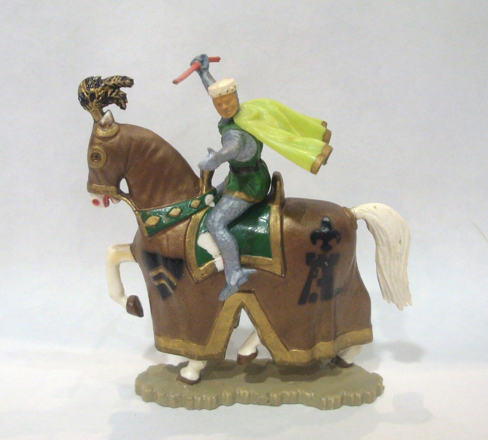 Figura starlux serie medio age   jinete con javeline - faldón ref 6112 n°2