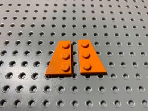 2x3 Right /& Left Wing Plates //Wedges 43722 43723 Choose Color 2pcs LEGO Parts