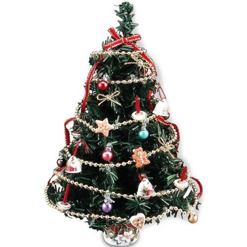 Dollhouse  Miniature SALE Christmas Tree Reutter Porcelain 1.889//0