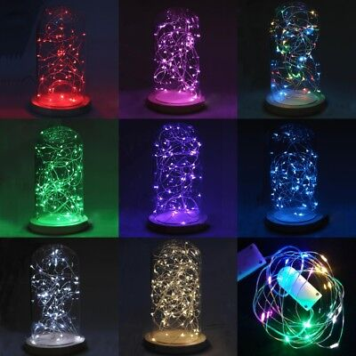30 LED Battery Powered CR2032 Copper Wire Wedding Xmas Party String Fairy Light