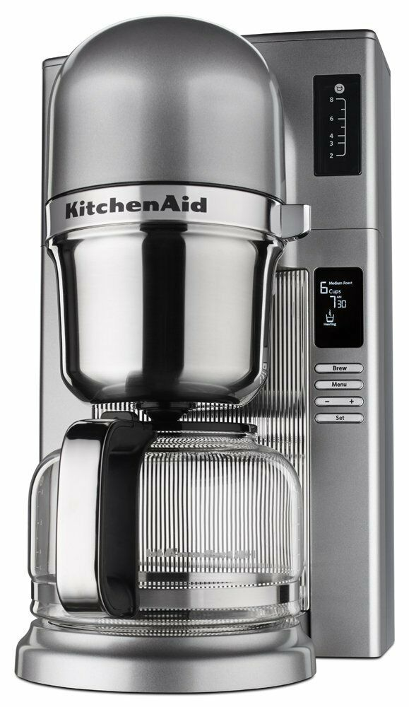 KitchenAid RR-KCM0802MS versez Coffee Brewer, médaillon argent