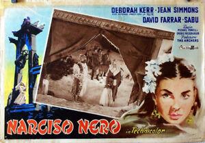 EXOTIC-AVENTURE-BLACK-NARCISUS-DEBORAH-KERR-1946-FOTOBUSTA-MICHAEL-POWER-EMER