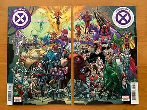 HOUSE-OF-X-6-POWERS-OF-X-6-Garron-Connecting-Set-Marvel-2019-NM