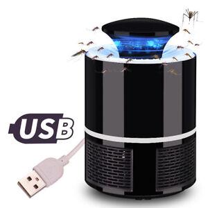 6-LED-Lampe-Piege-Moustiques-Repulsif-Insectes-Anti-Moustique-Chargeur-USB