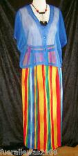 2 tlg Kleiderpaket Gr. 40 crazy sehr ausgefallen NEU Farbig toll für den Urlaub