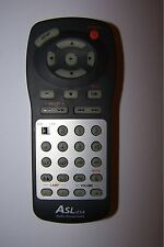 ASL USA AUDIO SOUNDS LABS TV/DVD COMBI REMOTE CONTROL