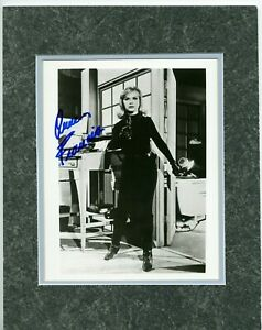 ANNE-FRANCIS-as-HONEY-WEST-B-amp-W-Photo-with-COA-Double-matted-11x14