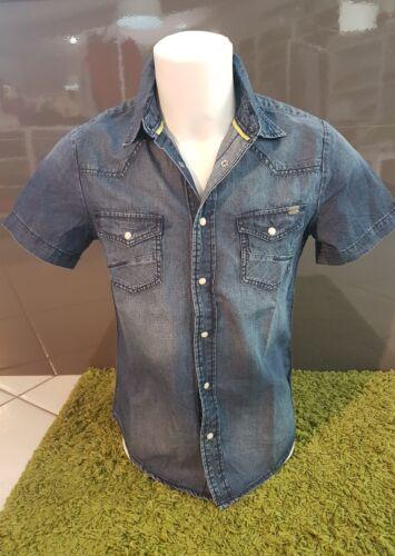 S Camicia Cicos Taglia Catbalou Manica Mezza Jeans 1qxpr1Y