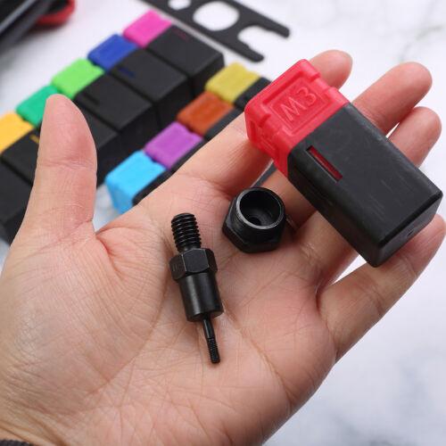 "16/"" Rivet Nut Gun Kit Rivnut Setting Tools Nut Setter Tool Hand Blind Riveter"