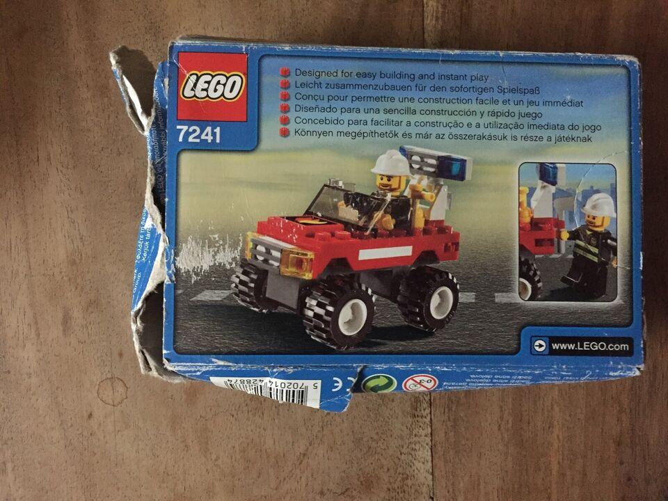 Lego City, 7241 Fire Car
