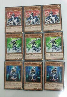 DPRP-EN017,DPRP-EN18 LV7 DPRP-EN016 YU-GI-OH Silent Swordsman LV3 LV5