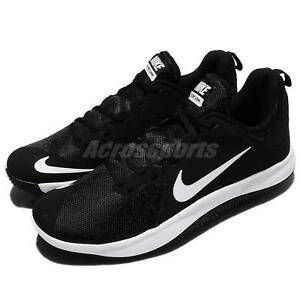 dbc02073694 Nike Fly.By Low Black White Men Basketball Shoes Sneakers Trainers ...