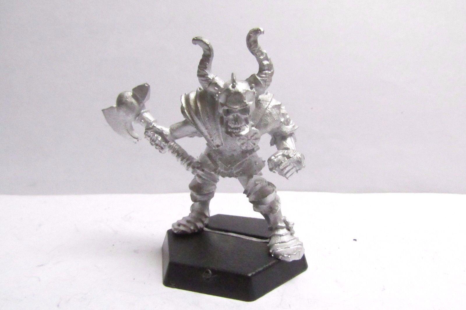 CITTADELLA OOP/WARHAMMER/Marauder non rilasciato CH1 Chaos Warrior Skull Face