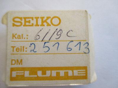 Besorgt Seiko Kaliber 6119c Ident 6106b , 6106 Ankerrad Escape Wheel Nos Neu Kunden Zuerst