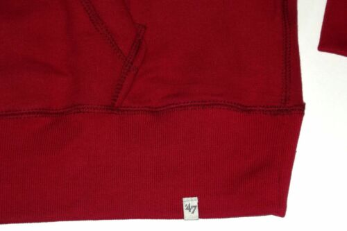 New 47 Brand NFL Kansas City Chiefs Embroidered Pullover Hoodie