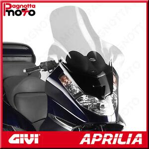 D240ST PARABREZZA ALTO GIVI TRASPARENTE 65 X 69 APRILIA ATLANTIC 500 2002>2006