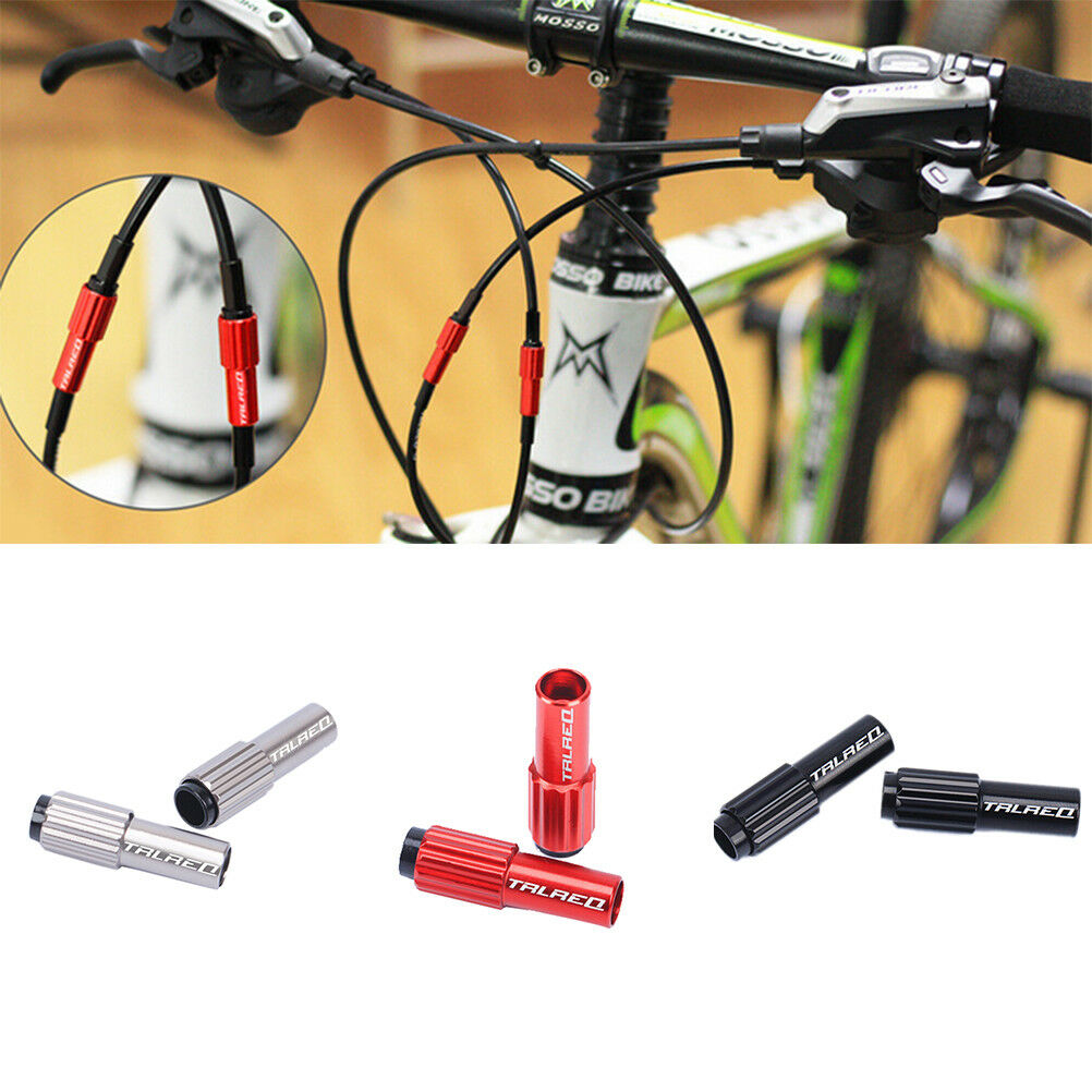 1Pair Bicycle Fine-Tuning Screws MTB Derailleurs Cable Housing Adjustable TO