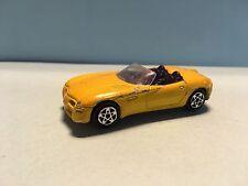 Diecast Majorette Dodge Concept Car  No. 238 Yellow Wear & Tear Good Condition