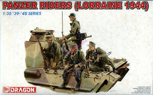 Dragon-6156-1-35-WWII-German-Panzer-Riders-Lorraine-1944-4-Figures-2019