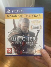 The Witcher 3 - Game of The Year Edition (PlayStation 4,2016)