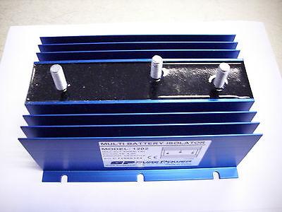 Ladestromverteiler 2 x 75 - 240A  6-50 Volt Trenndiode  Isolator für 2 Batterien