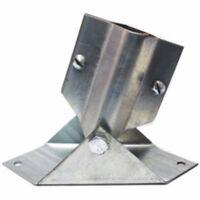 Rohn Universal Roof Mount - Etmb - Tv Antenna Telescoping Mast Bracket -