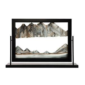 Image Is Loading Rainbow Vision Sandbuilder Black Window Sand Art Frame
