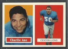 1994 Topps Archives - 1957 Topps Reprint - #56 - Charlie Ane - Lions
