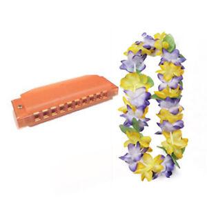 VBS-Island-Theme-Music-pack-W-Orange-Harmonica-amp-Mahalo-Yellow-Floral-Lei