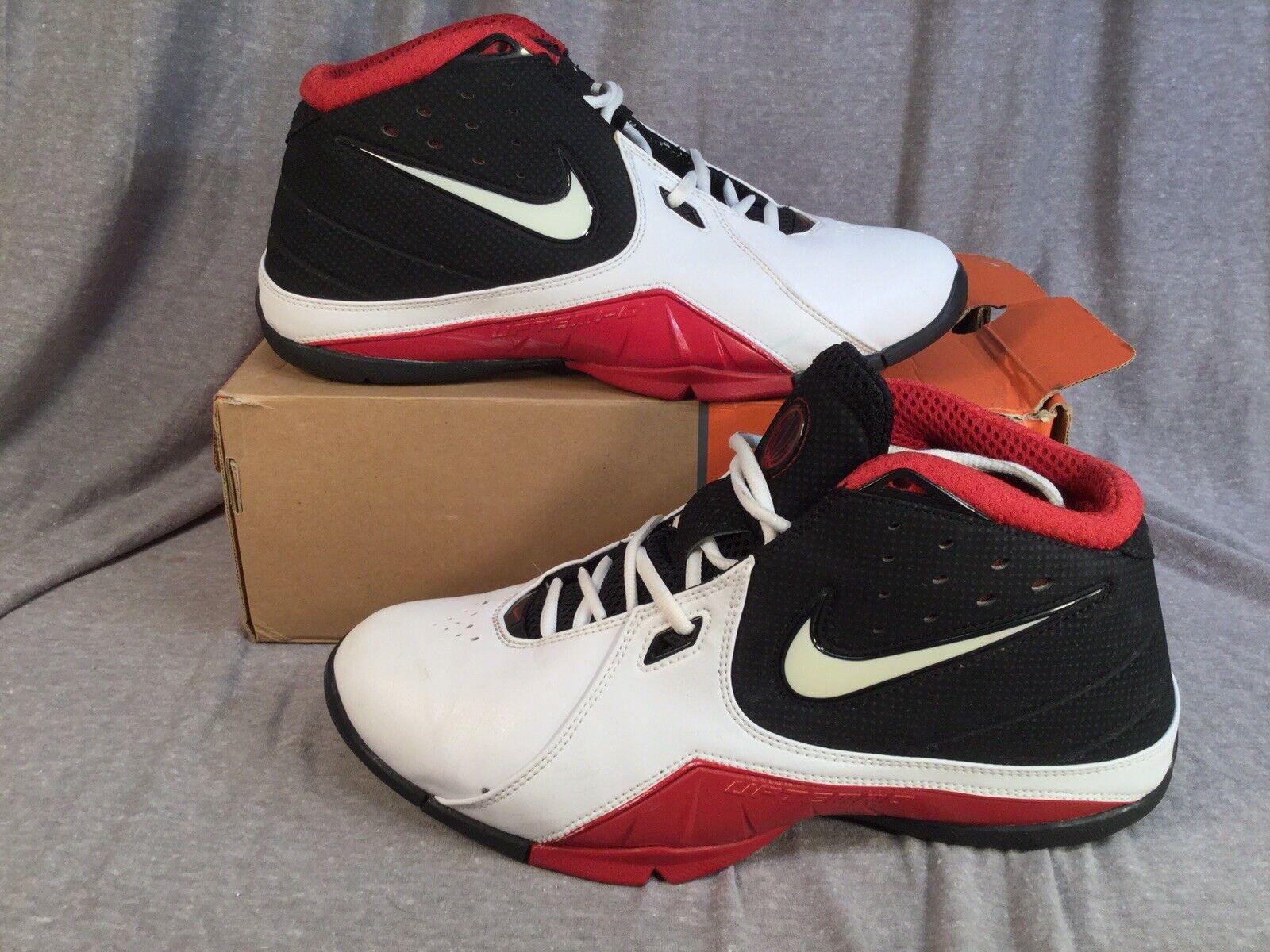 2006 NIKE Air Uptempo Stutter Step STEVE NASH Basketball 314468-111 Mens 11.0
