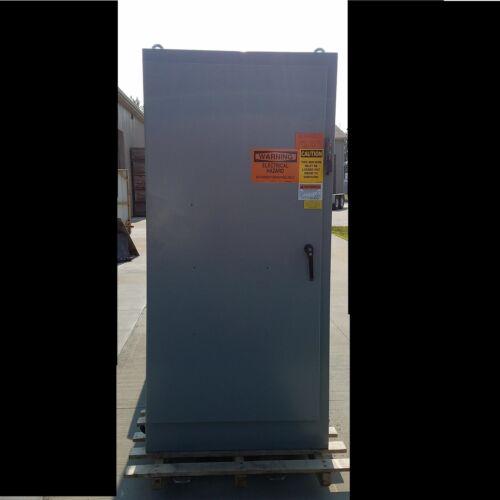 "40/"" Width/"" 84/"" Height Saginaw Control SCE-84XM4018G Enclosure 18/"" Deep USED"