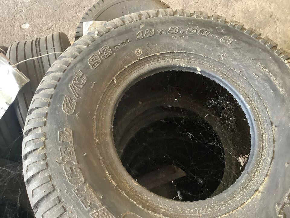 Dæk og hjul til ATV og øvrige maskiner, 3 paller med mange