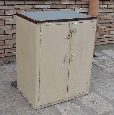 credenza dispensa anni 50 mobile cucina basso madia modernariato ...